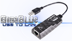 GigaBlue GigaBit Adapter  USB -> RJ45
