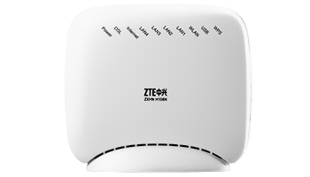 ZTE ZT-ZXHN-H108N WIRELESS/N 150Mbps 4PORT ADSL2+ MODEM/ROUTER ANNEX