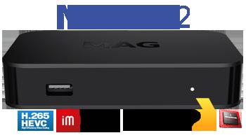 MAG 322 IPTV SET-TOP BOX HEVC - MAG - IPTV