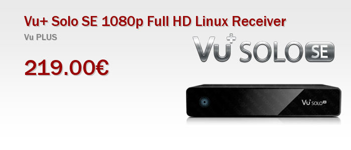 Vu+ Solo SE 1080p Full HD Linux Receiver